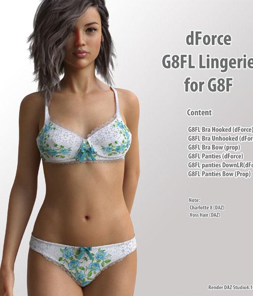 dForce G8FL Lingerie for G8F
