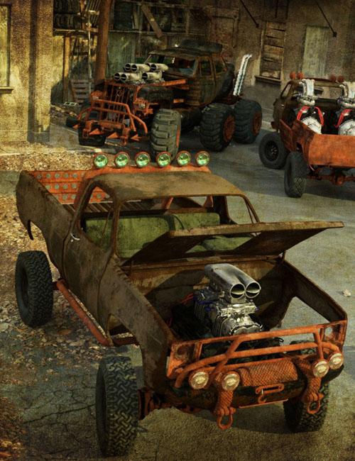 Wasteland Vehicle Construction Set Add-Ons