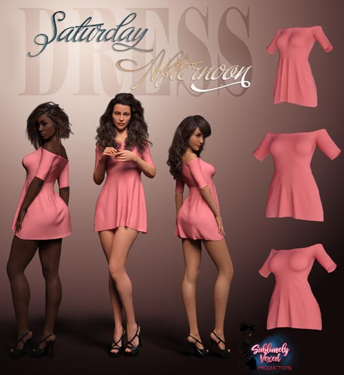 SublimelyVexed Saturday Afternoon Dress G8F