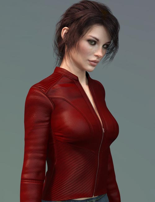 X-Fashion Slim Fit Jacket for Genesis 8 Female(s)