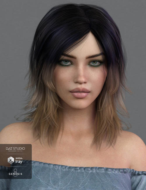 Ladina Hair for Genesis 3 and 8 Female(s)