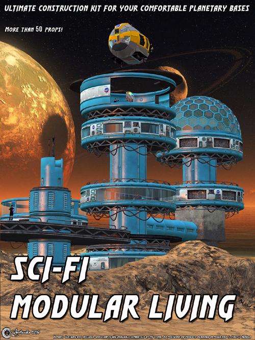 Sci-Fi Modular Living