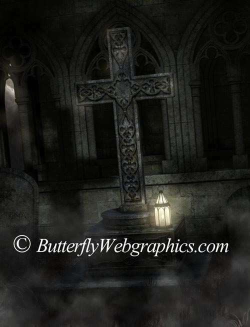 22 Goth clip art images in the PNG format