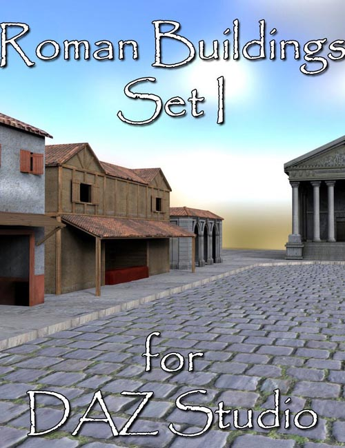 Roman Buildings Set I - DAZ Studio
