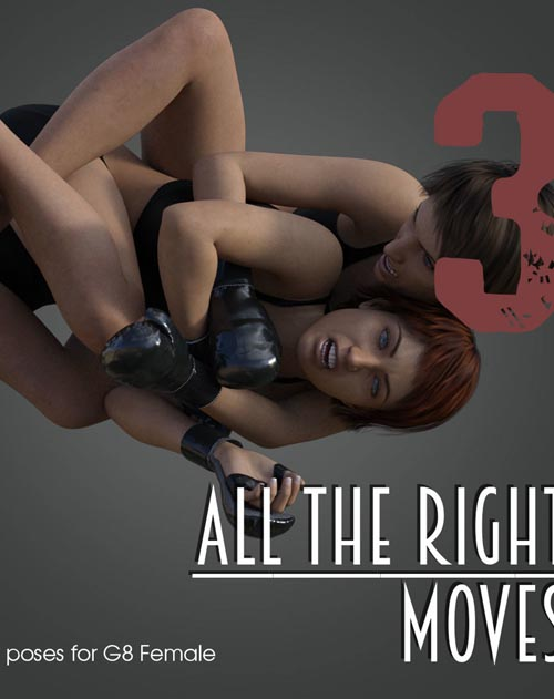 ALL THE RIGHT MOVES vol.3 for Genesis 8 Female