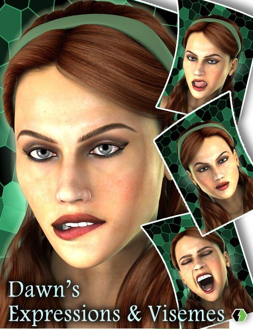 Dawn's Expressions & Visemes
