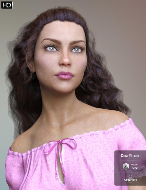 Belinah HD for Genesis 8 Female