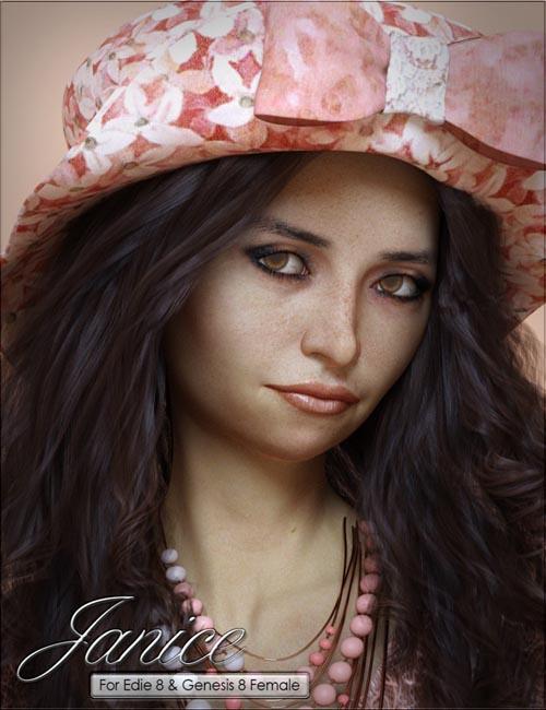 VYK Janice for Genesis 8 Female