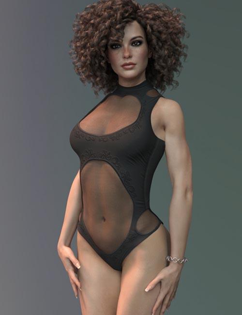 X-Fashion Sublime Bodysuit for Genesis 8 Female(s)