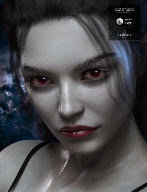 Rachelle Vamp HD for Genesis 3 & 8 Female