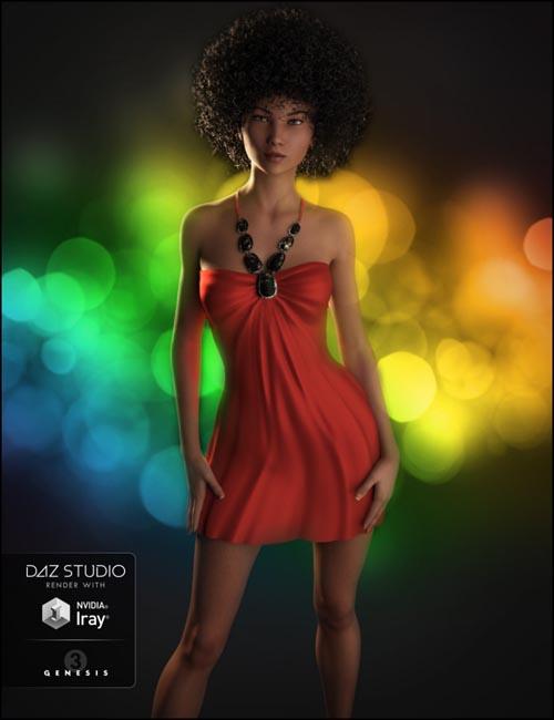 Belleza Dress for Genesis 3 Female(s)