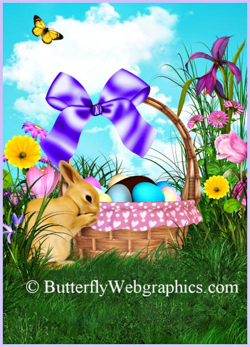 37 Easter Graphics in the PNG format