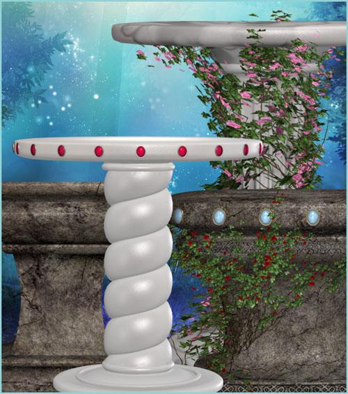 37 Fairy Pedestal clip art images