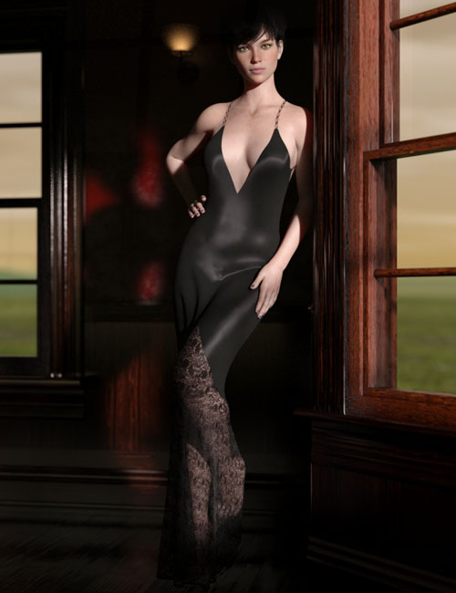 dForce Whimsical Desire Gown for G8F