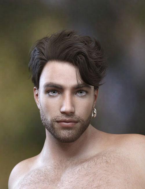 Magnus Hair for Genesis 3 and Genesis 8 Male(s)