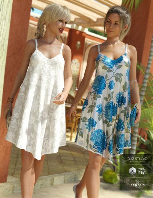Florals for Chiffon Slip Dress