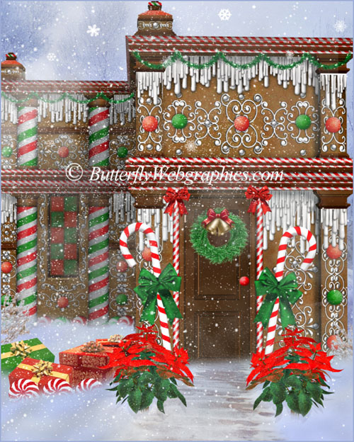 22 Christmas graphics in the PNG format