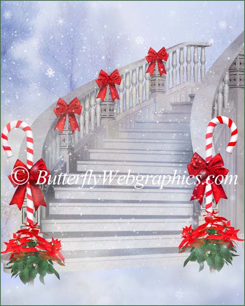 11 Christmas background images in the PNG format
