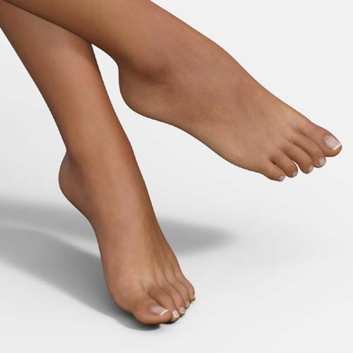 Real Feet 2 for Genesis 8 Female