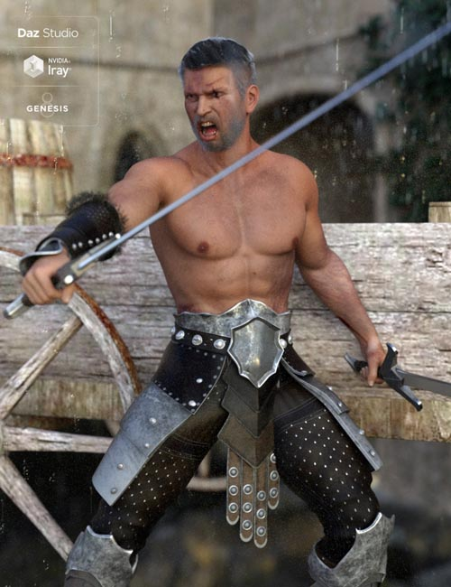 Trajan HD for Genesis 8 Male