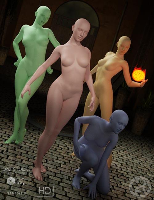 Posapalooza Poses for Genesis 8 Female(s)