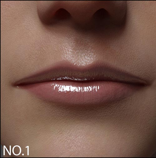 Small Lips Morphs for G8F Vol 1