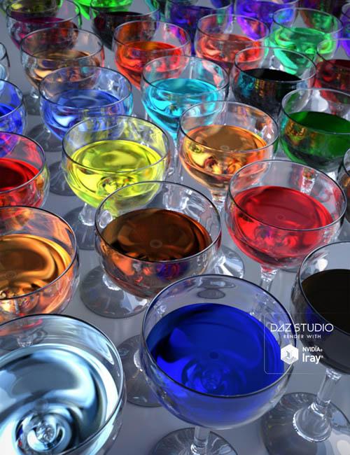Liquid 2 Iray Shaders