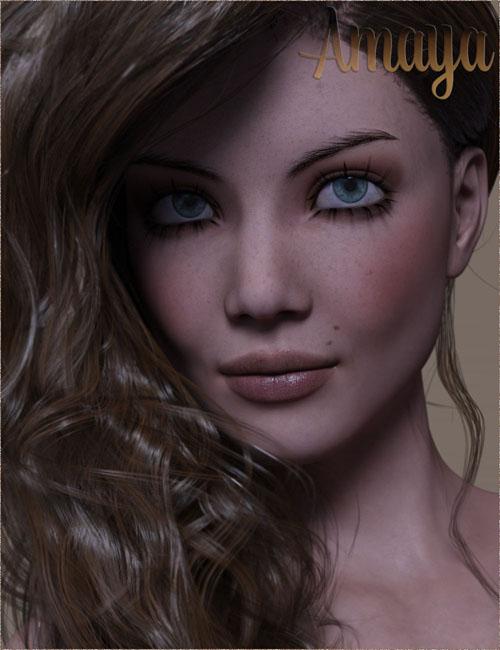 TDT-Amaya for Genesis 8 Female