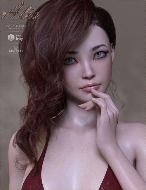 TDT-Alia for Genesis 8 Female