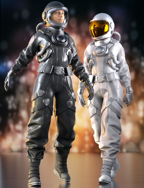 Space Suit Outfit for Genesis 8 Female(s)