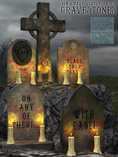 S1M Halloween: Gravestones