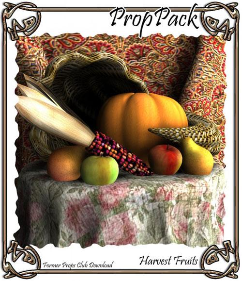 Props Pack - Harvest Fruits