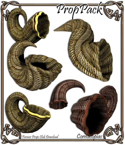 Props Pack - Cornucopias
