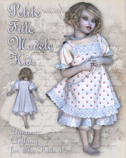 Petite Fille Modele for The Kids 4
