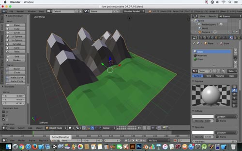 Skillshare - Make a Low Poly Scene In Blender and Unity in 30 Minutes!