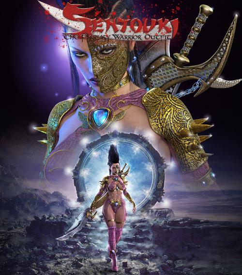 Sentouki The Fantasy Warrior Outfit