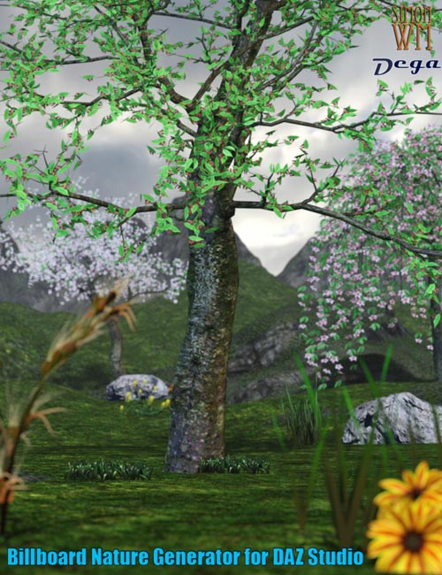 Nature Billboards for Daz Studio