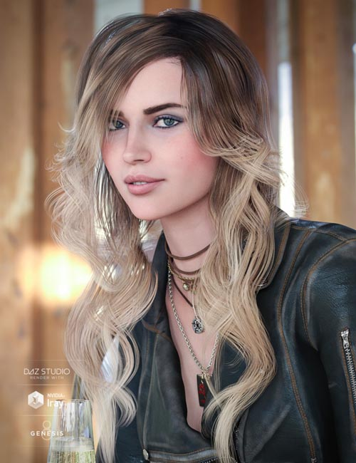 Cafe Curls for Genesis 8 Female(s)