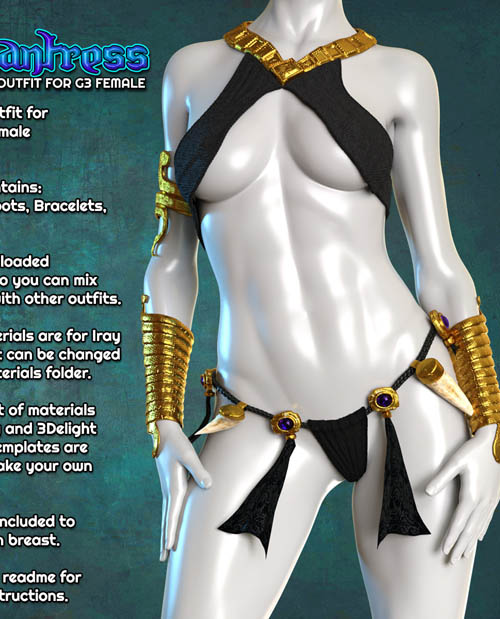 Exnem Enchantress Outfit for G3 Female