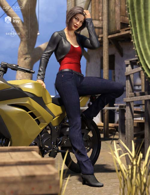 Riviera Noon Outfit for Genesis 8 Female(s)