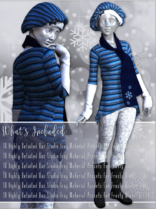 Cold Outside-for Frosty Winter-Genesis 3 Females