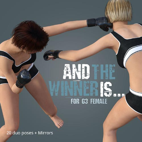 AND THE WINNER IS for Genesis 3 Female