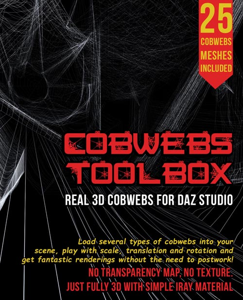 Cobwebs Toolbox for DS Iray