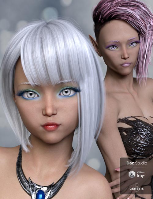 Akari and Alter Ego for Genesis 8 Female