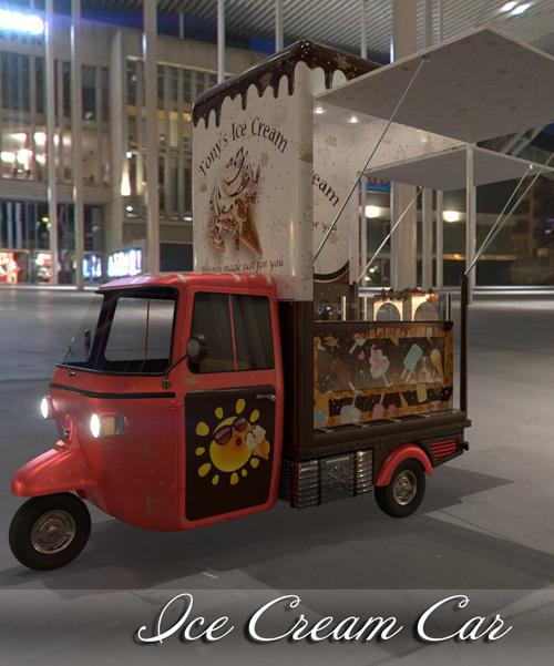 AJ Ice Cream Car