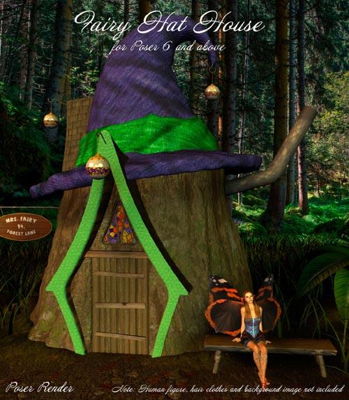 AJ Fairy Hat House