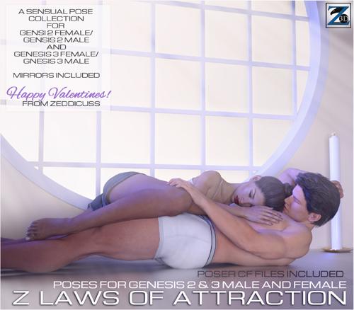 Z Laws Of Attraction - Genesis 2 Female & Male - Genesis 3 Female & Male