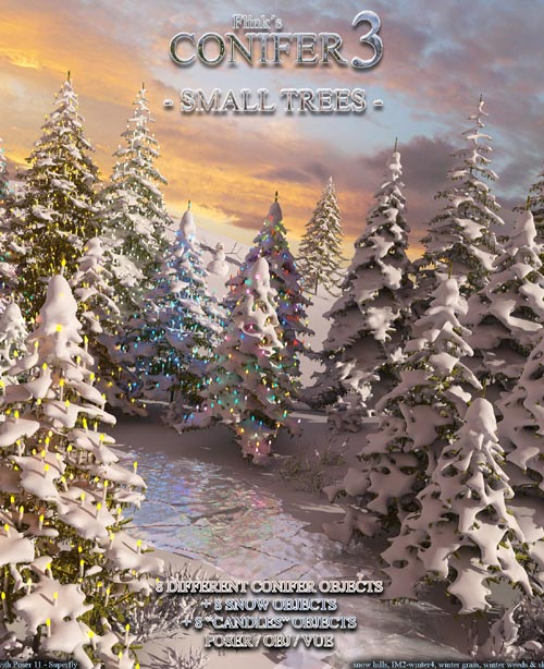 Flinks Conifer 3 - Small Trees