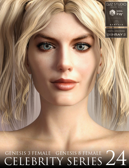 Celebrity Series 24 for Genesis 3 and Genesis 8 Female