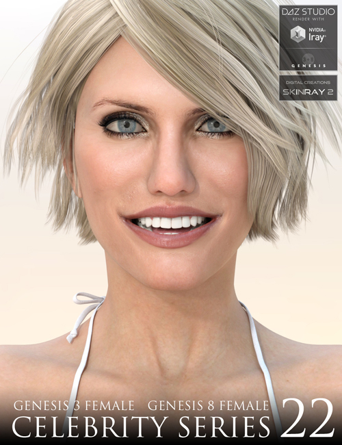 Celebrity Series 22 for Genesis 3 and Genesis 8 Female